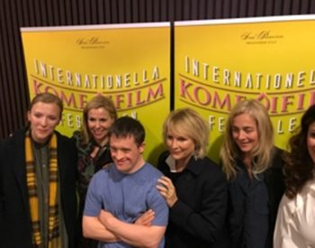 In Stockholm with Sally Phillips, Jennier Saunders, Beattie Edmonson and Nisti Sterk for the Swedish Internationel Komedi Film Festival